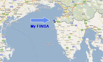 My FINSA google map